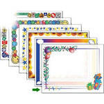 "Dry Lam Pizzazz Decorative Laminating Pouches - Birthday Pack - Fun Frames 9 x 11.5""  (24 Pack)"