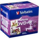 Verbatim DVD+R Recordable Photo Disc in Jewel Case (Pack of 10)