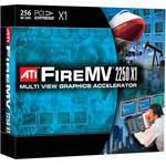 ATI FireMV 2250 X1 PCI Express x1 Workstation Display Card
