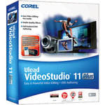 Corel Ulead VideoStudio 11 Plus Video Editing and DVD Authoring Software - Win