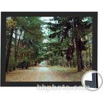 "Draper 253747 Onyx Fixed Frame Front Projection Screen with Black Veltex Frame (45 x 106"")"