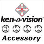 Ken-A-Vision SCSMVE Stage Micrometer - 0.01mm Ruling, for Microscope Stage