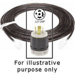 Strand Lighting Cable with L21-20P Plug -6'