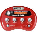 Line 6 Pocket POD - Portable Amp and Effects Modeler for Guitar