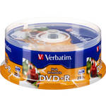 Verbatim DVD-R 4.76GB 16X Printable (25)