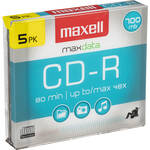 Maxell CD-R, 48x, Disc (5)