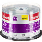 Maxell DVD+R 4.7GB, 16x Disc (50)