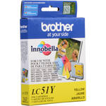 Brother LC51Y Innobella Yellow Ink Cartridge