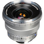 Zeiss Super Wide Angle 18mm f/4 Distagon T* ZM Manual Focus Lens - Silver