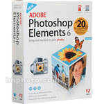 Adobe Photoshop Elements 6.0 Software for Windows