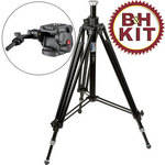 Manfrotto 028B Tripod Legs (Black) with 503HDV Head