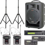 Galaxy Audio ASTV8C2SP Any Spot Traveler