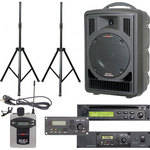 Galaxy Audio ASTV8CT1VP Any Spot Traveler Portable PA