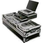 Odyssey Innovative Designs FZGS19CDJW Flight Zone Glide Style Laptop DJ CD Mixer Coffin with Wheels