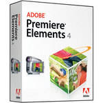 Adobe Premiere Elements 4 Video Editing Software for Windows