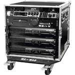 "Marathon MA-16UAD21W  Flight Road  16U Deluxe Amplifier 21"" Rack Case"