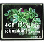 Kingston 4GB CompactFlash Memory Card Elite Pro 133x