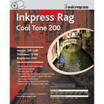 "Inkpress Media Picture Rag Cool Tone Paper (200 gsm) -  60"" Wide Roll - 40' Long"