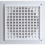 Bogen Communications SGHD8  Heavy Duty Square Grill for BBSM6 (White)