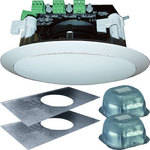 "OWI Inc. AMP3SS62 Self-Amplified 3-Source 6"" Ceiling Speaker Kit"