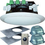 "OWI Inc. AMP3S62MVC Self-Amplified 3-Source 6"" Ceiling Speaker Kit"
