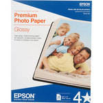 "Epson Premium Photo Paper Glossy (8.5 x 11"", 25 Sheets)"