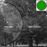 "Tiffen 3 x 3"" Deep Green #61 Filter"
