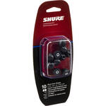 Shure EABKF1-10L Replacement Black Foam Sleeves for SE-Series (Large, 5 Pair)