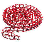 Manfrotto 091MCR Metal Chain for Expan Drive, Red 11.5' (3.5m)