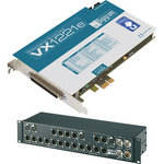 Digigram VX1221e - PCIe Digital Audio Card (with BOB12 Breakout Box)