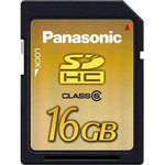 Panasonic 16GB Secure Digital (SDHC) Memory Card
