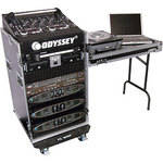 Odyssey Innovative Designs FZ1116WDLX Flight Zone ATA DLX Combo Rack Case