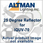 Altman Reflector for IQUV-70 Blacklight - 25 Degrees