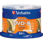Verbatim DVD-R LightScribe Printable Recordable Disc (Spindle Pack of 50)