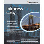"Inkpress Media RC Glossy Inkjet Paper (240gsm) - 11 x 17"" (100 Sheets)"