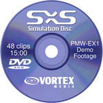 Vortex Media DVD: Sony EX1 SxS Simulation Disc