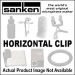 Sanken Horizontal Microphone Clip 10-Pack (White)