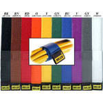 "Rip-Tie CableWrap 2 x 18"" (10 Pack)  (Rainbow)"