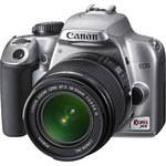 Canon EOS Rebel XS (a.k.a. 1000D) SLR Digital Camera Kit (Silver) with 18-55mm IS Lens