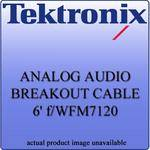 Tektronix WFM712062 Analog Audio Breakout Cable