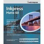 "Inkpress Media Matte 60 Paper for Inkjet - 4x6"" - 100 Sheets"