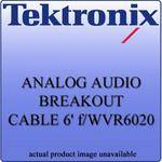 Tektronix WVR602062 Analog Audio Breakout Cable