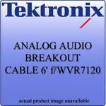 Tektronix WVR712062 Analog Audio Breakout Cable