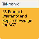 Tektronix R3 Product Warranty and Repair Coverage for AG7