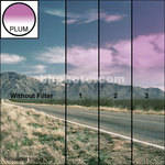 "Tiffen 2 x 2"" 3 Plum Soft-Edge Graduated Filter"