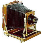 Wista 810DX Cherry 8x10 Double Extension Wooden Field Camera