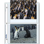 "Print File 57-4P Archival Storage Page for 4 Prints (5 x 7"", 500-Pack)"