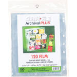ClearFile Archival-Plus Storage Page for Negatives, 6x7cm, 4-Strips/3-Frames - 100