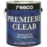 Rosco Premiere Clear Satin Paint (1 Gallon / 3.78 liters)