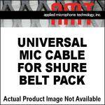 AMT Universal Mic Cable for Shure Beltpacks